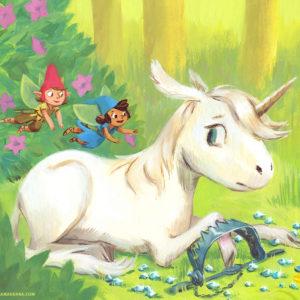 Au secours de la licorne – Les Belles Histoires